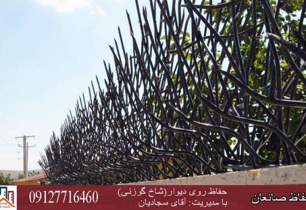 محافظ دیوار شاخ گوزنی